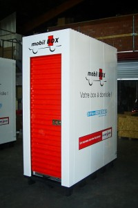 Mobile box pallet unit MSS Self Storage Systems